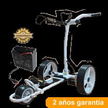 Carro de golf eléctrico, CARWINNER, con batería AGM de 20ah.