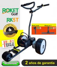 Carro de golf eléctrico ROKET RK5T con batería de Litio