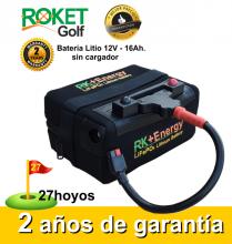 BATERÍA DE LITIO RK+Energy 12V. 16Ah. SIN CARGADOR