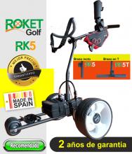 Carro de golf eléctrico ROKET RK5 con batería de Litio