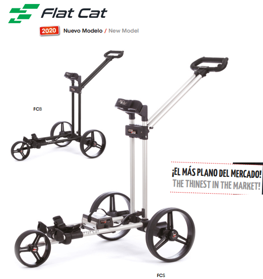 FLAT CAT CARRO DE GOLF ELECTRICO