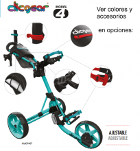 CLICGEAR 4.0 CARRO DE GOLF MANUAL