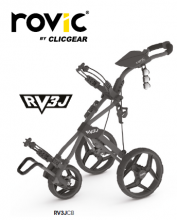 ROVIC RV3J JUNIOR CARRO DE GOLF MANUAL