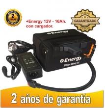 BATERÍA DE LITIO + Energy 12V. 16Ah. CON CARGADOR