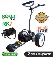 Carro de golf eléctrico ROKET RK7 CON BATERÍA de Litio