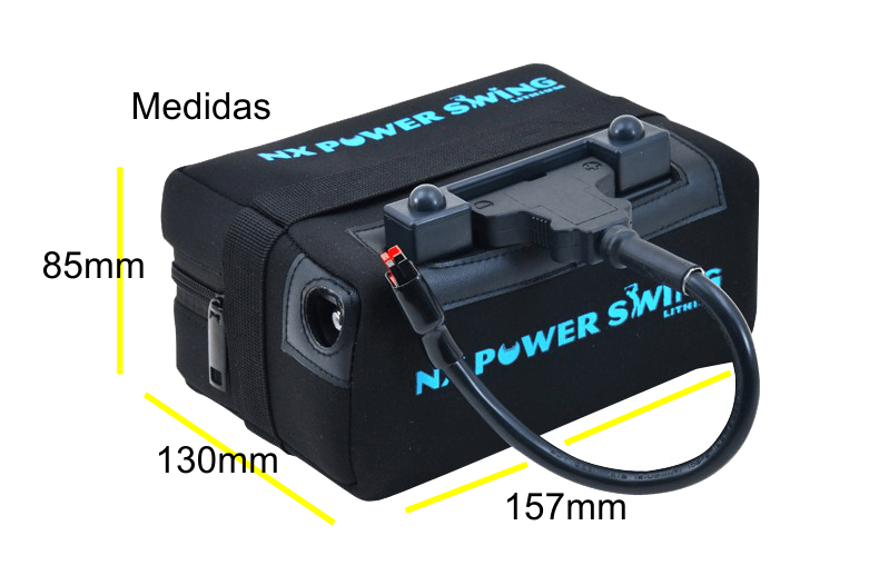 BATERÍA DE LITIO NX POWER SWING, 12V. 16Ah. SIN CARGADOR