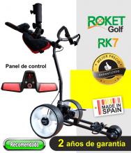 Carro de golf eléctrico ROKET RK7 SIN BATERÍA