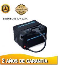 BATERÍA DE LITIO NX POWER SWING, 12V. 22Ah. SIN CARGADOR