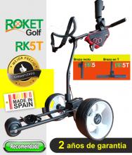 Carro de golf eléctrico ROKET RK5T SIN BATERIA