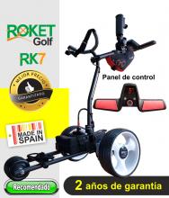 Carro de golf eléctrico ROKET RK7 CON BATERÍA de Litio.