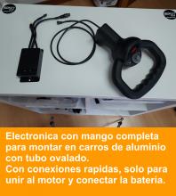 Caja electronica con mango, con control de parada, para carros de golf 12V