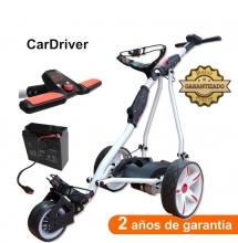 Carro de golf eléctrico, CARDRIVER, con batería de AGM 20Ah.
