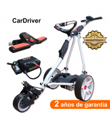 Carro de golf eléctrico, CARDRIVER, con batería de Litio 16Ah.