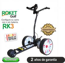 Carro de golf eléctrico ROKET RK3 SIN BATERIA.