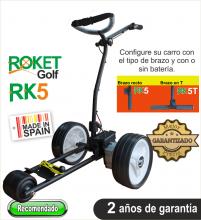 Carro de golf eléctrico ROKET RK5 SIN BATERIA