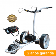 Carro de golf eléctrico, CARWINNER, con batería de Litio 16Ah.
