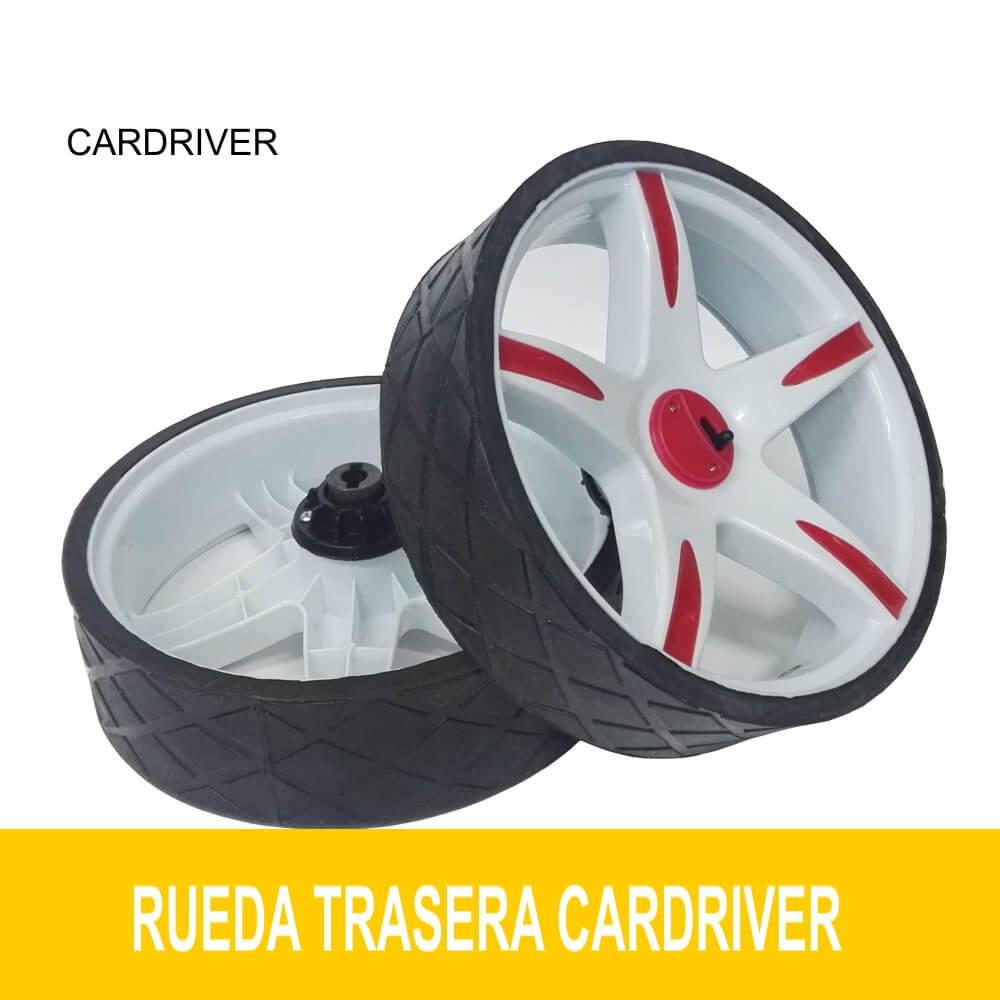 Ruedas juego 2 unidades R y L CARDRIVER