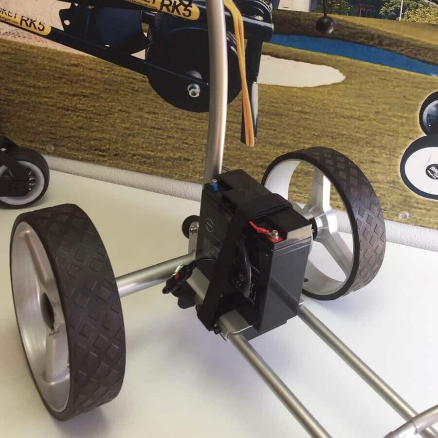 Carro de golf eléctrico, CARWINNER, Batería AGM.