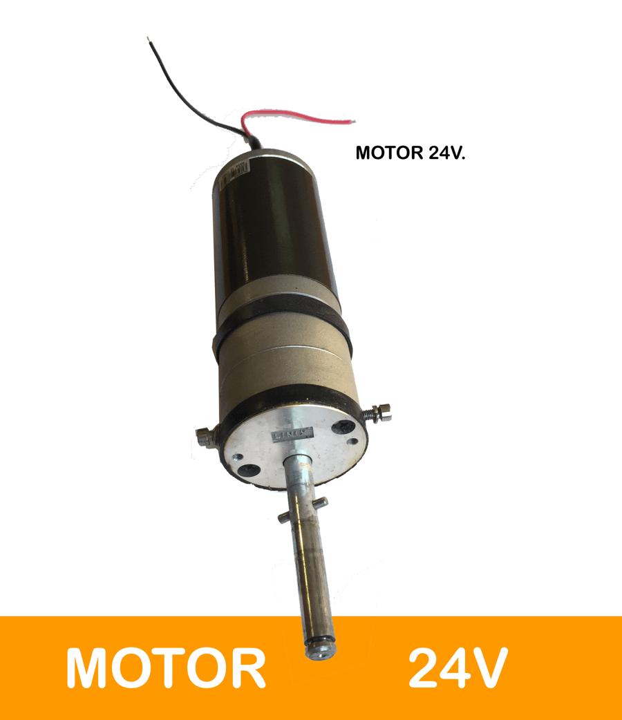 MOTOR 24V para carro de golf