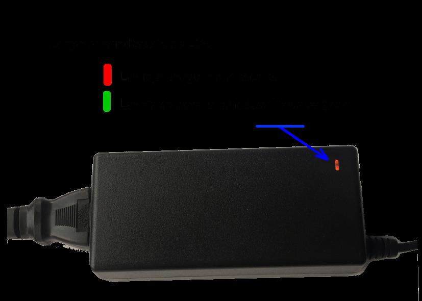 Cargador batería Litio LiFePo4., 4Ah. 4 celulas 12V