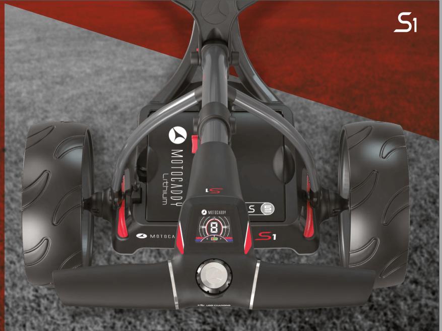 MOTOCADDY NEW S1 Carro de golf eléctrico