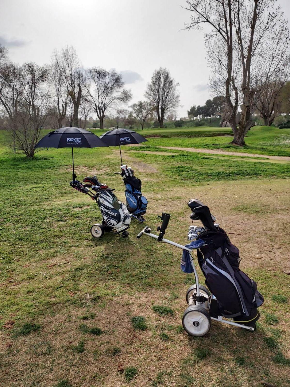 Paraguas de golf Automático y Anti-viento, gran resistencia