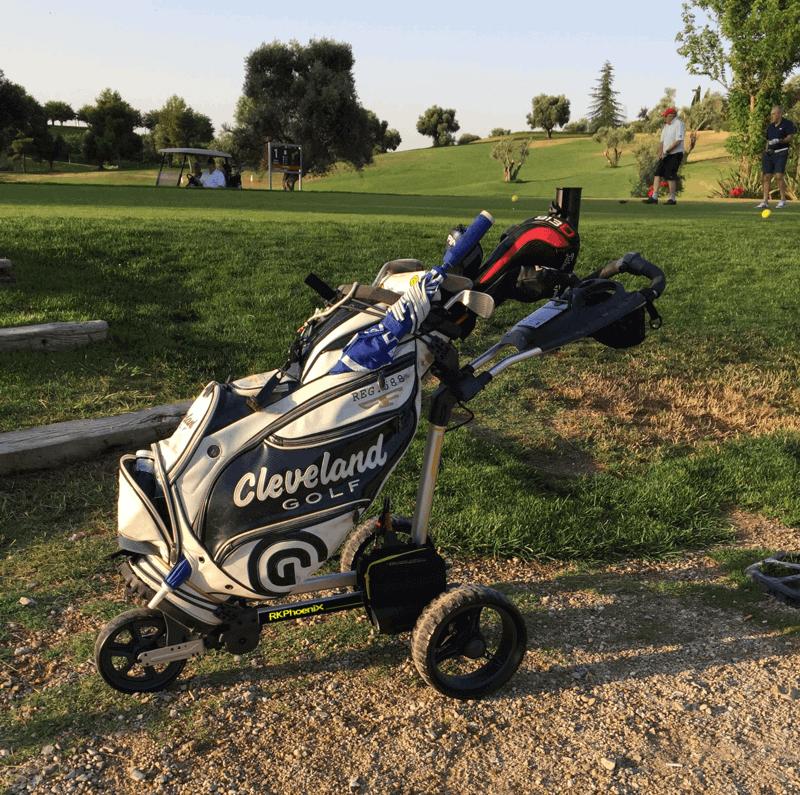 Carro de golf eléctrico RKPhoenix sin batería