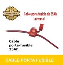 Cable PORTA-FUSIBLE 35Ah.