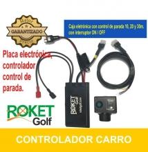 Caja electronica Universal, con control de parada, para carros de golf 12V